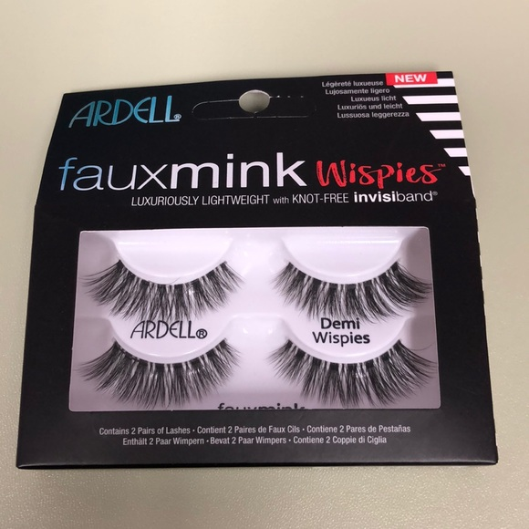 Ardell Other - ARDELL fauxmink wispies w/knox-free invisiband